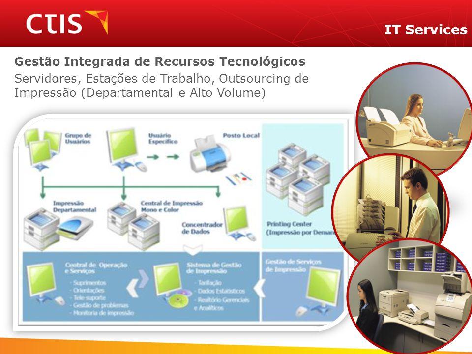 IT Services Gestão Integrada de Recursos Tecnológicos