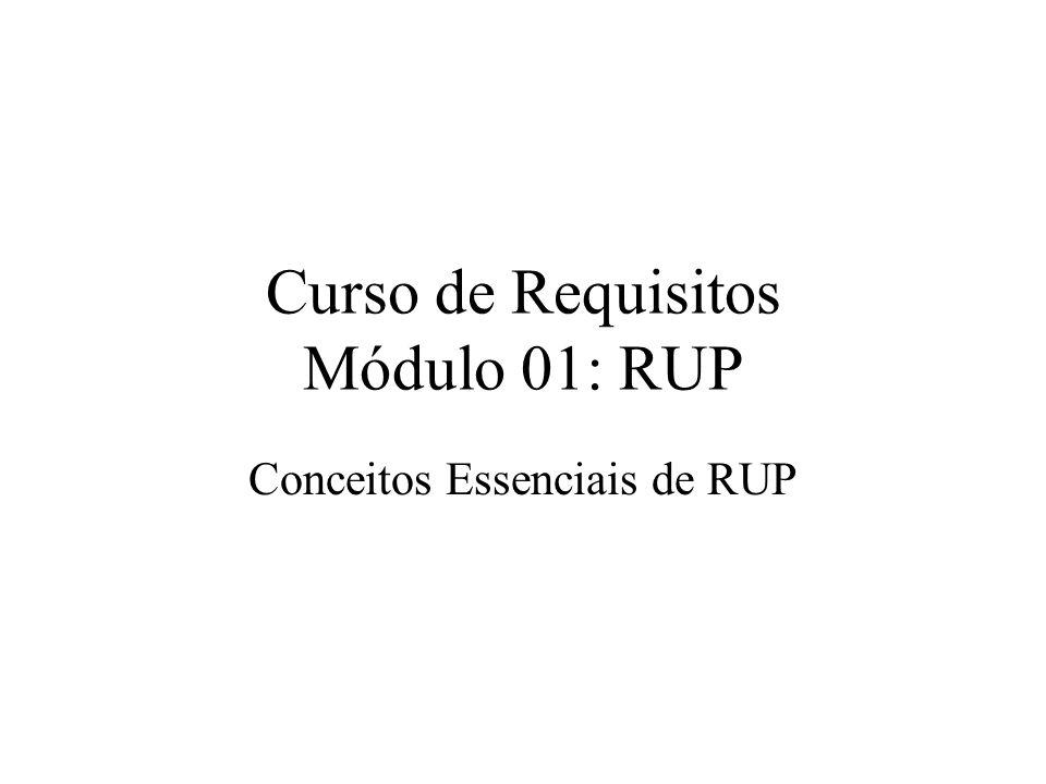 Curso de Requisitos Módulo 01: RUP