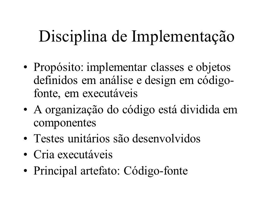 Disciplina de Implementação