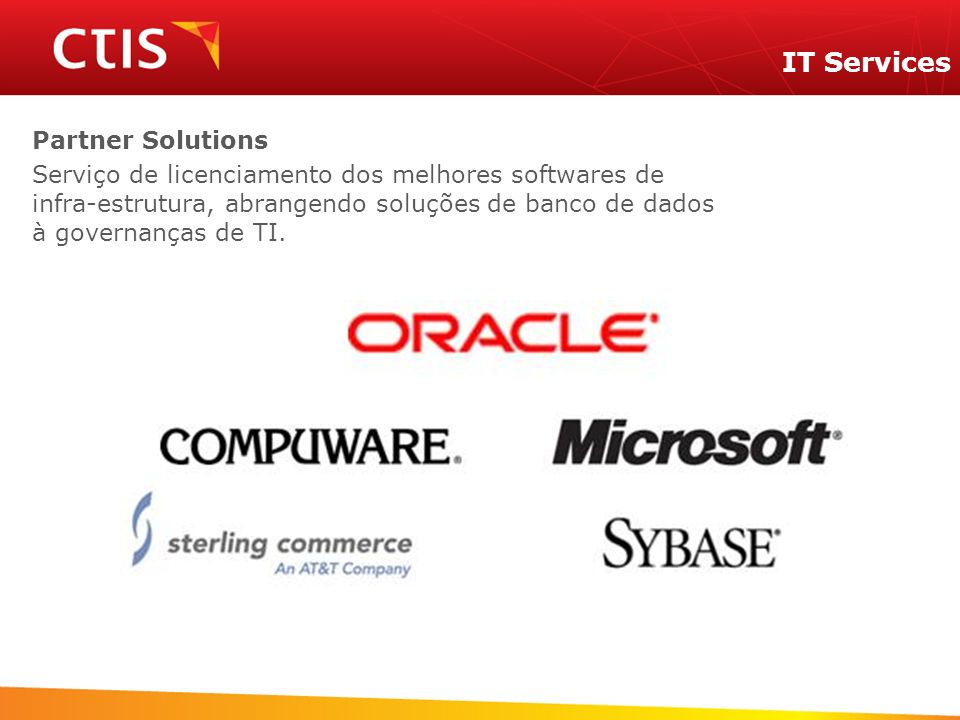IT Services Partner Solutions