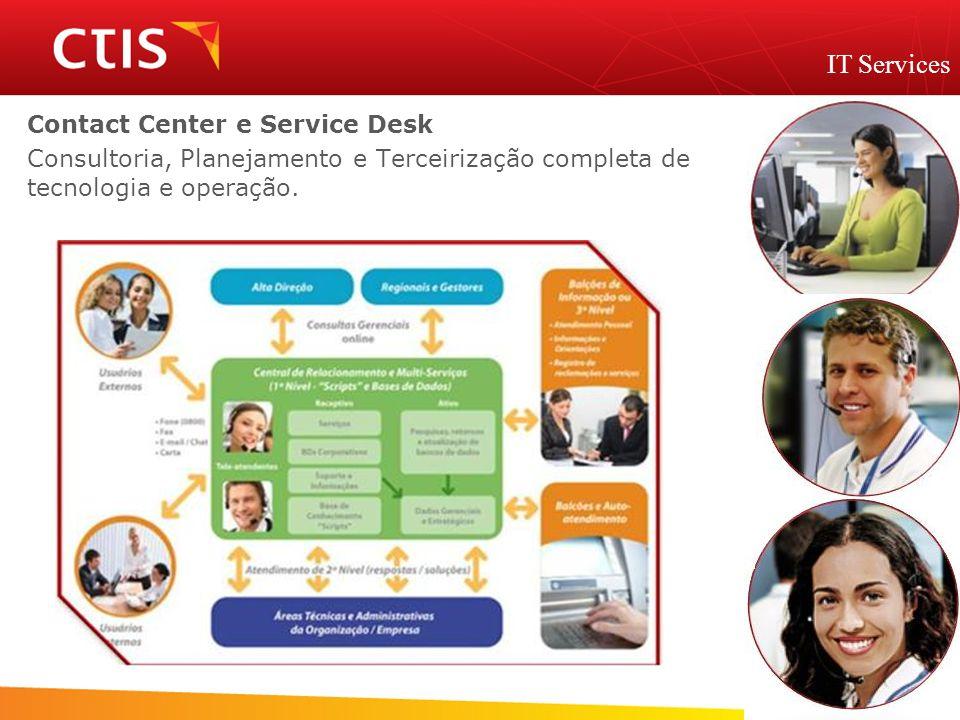 IT Services Contact Center e Service Desk
