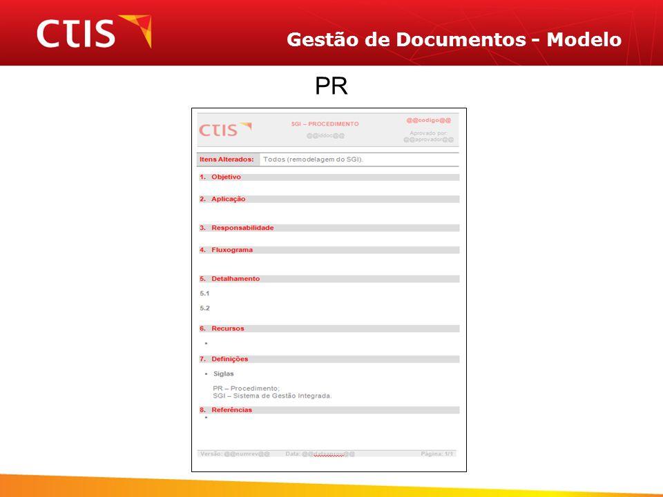 Gestão de Documentos - Modelo