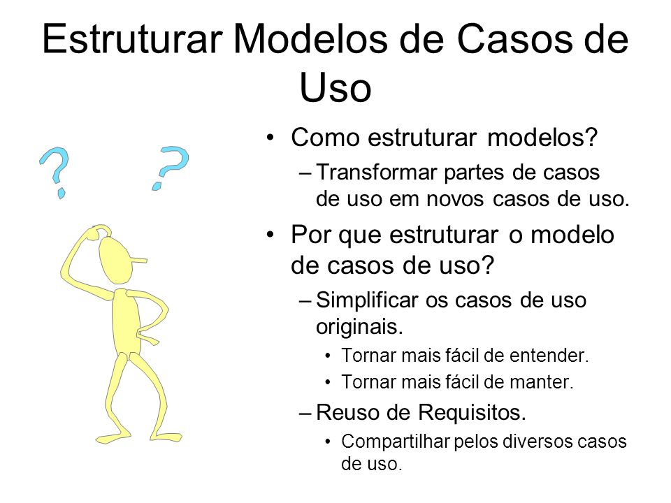 Estruturar Modelos de Casos de Uso