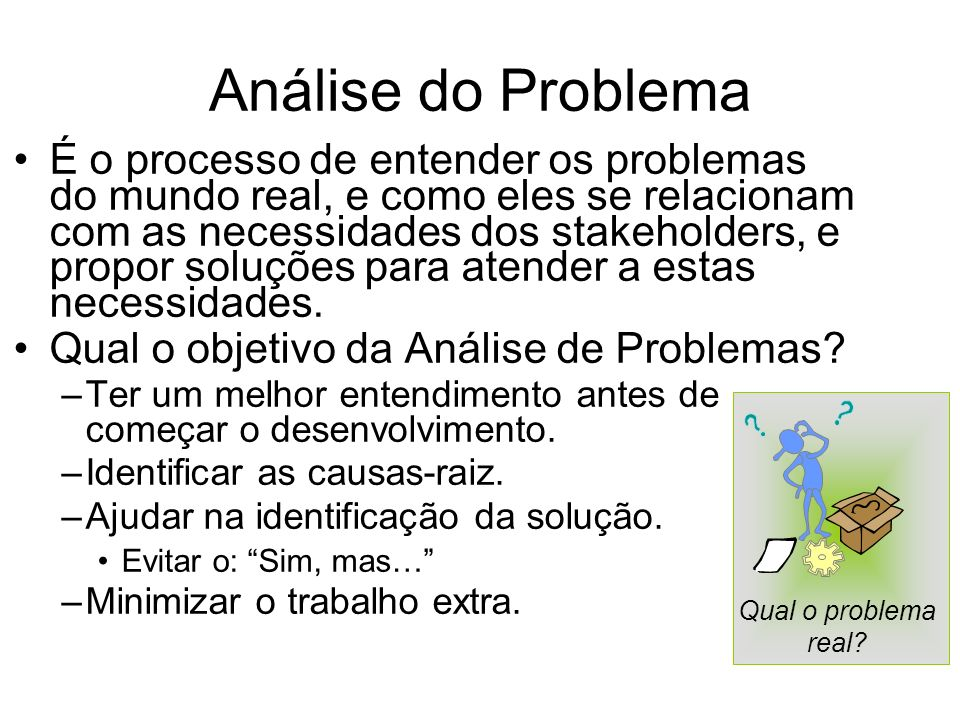 Análise do Problema