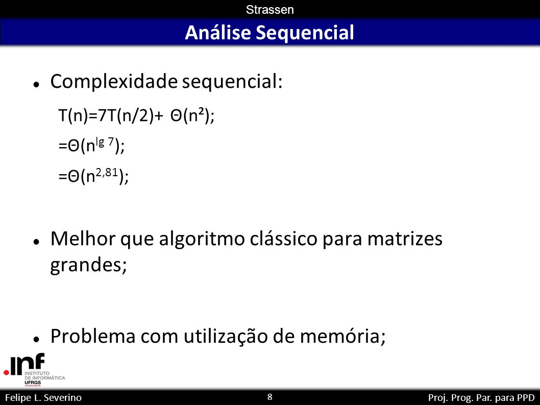 Complexidade sequencial:
