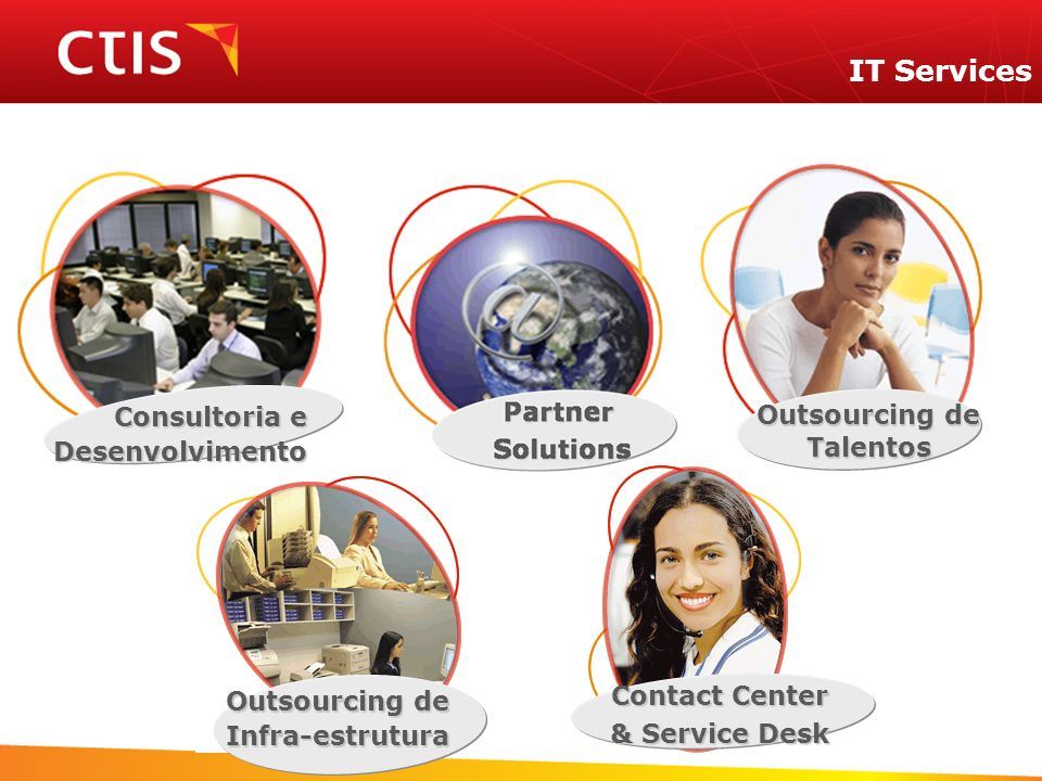IT Services Outsourcing de Consultoria e Talentos Desenvolvimento