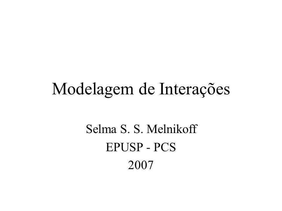 Modelagem de Interações
