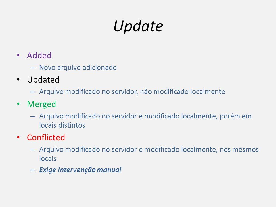 Update Added Updated Merged Conflicted Novo arquivo adicionado