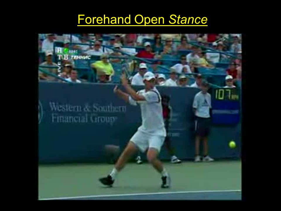 Forehand Open Stance
