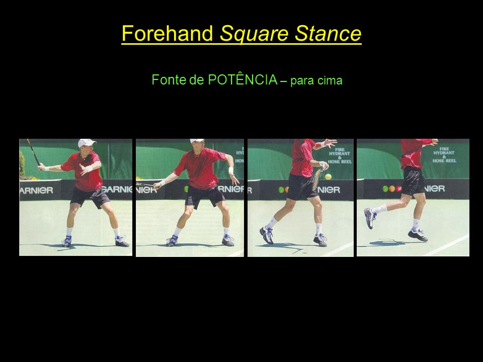 Forehand Square Stance