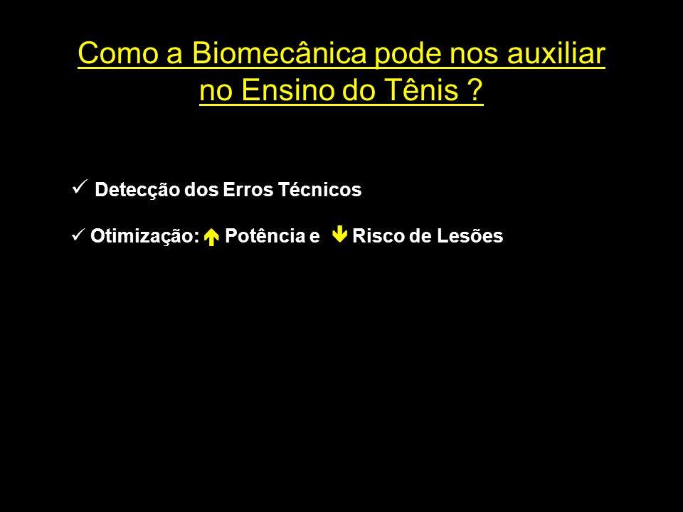 Como a Biomecânica pode nos auxiliar no Ensino do Tênis