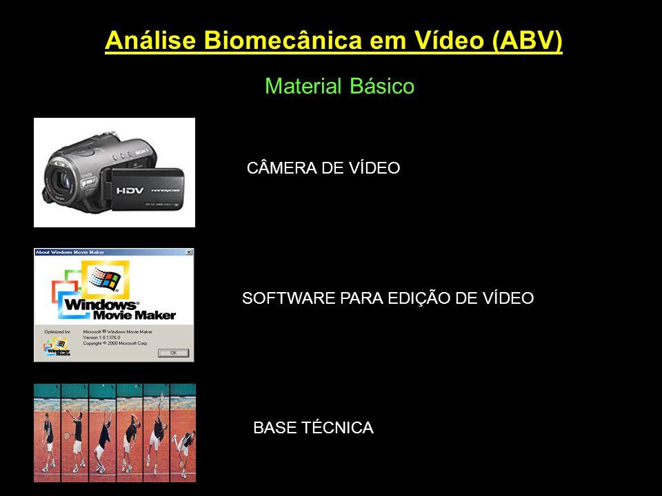 Análise Biomecânica em Vídeo (ABV)