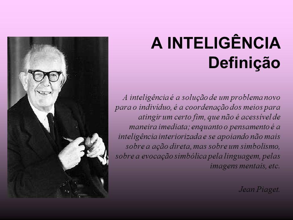 A INTELIGÊNCIA Definição