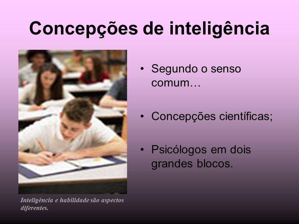 Concepções de inteligência