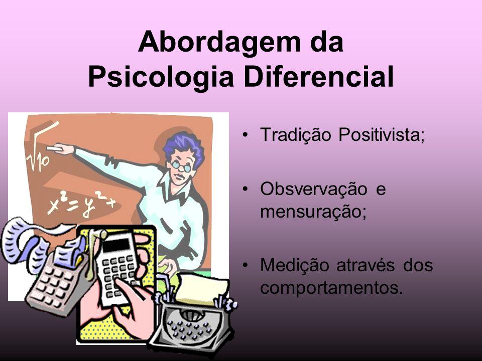 Abordagem da Psicologia Diferencial