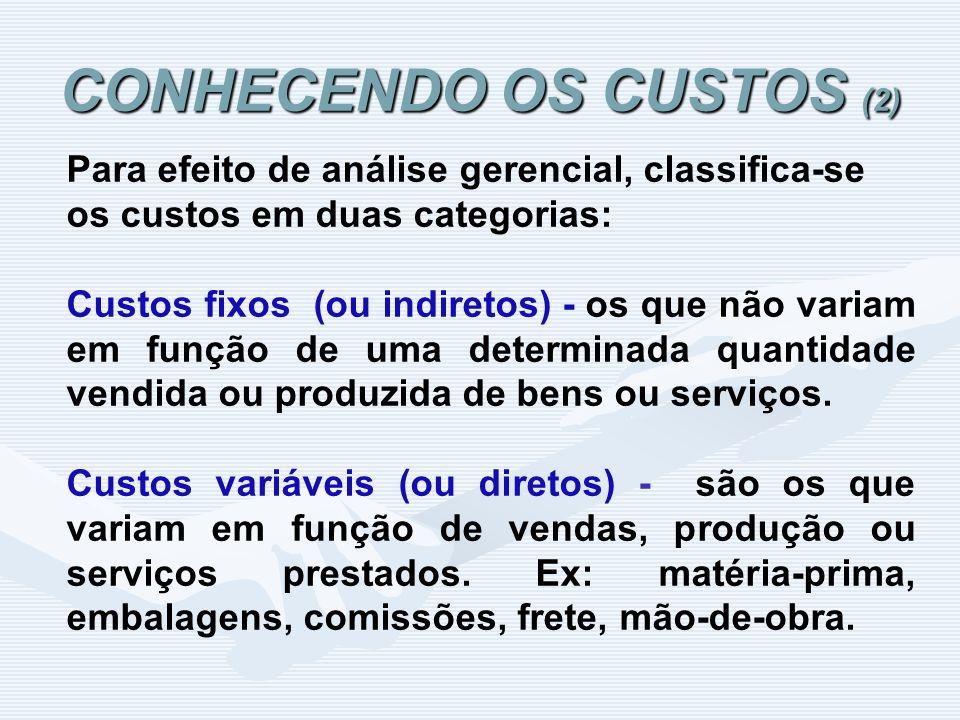 CONHECENDO OS CUSTOS (2)