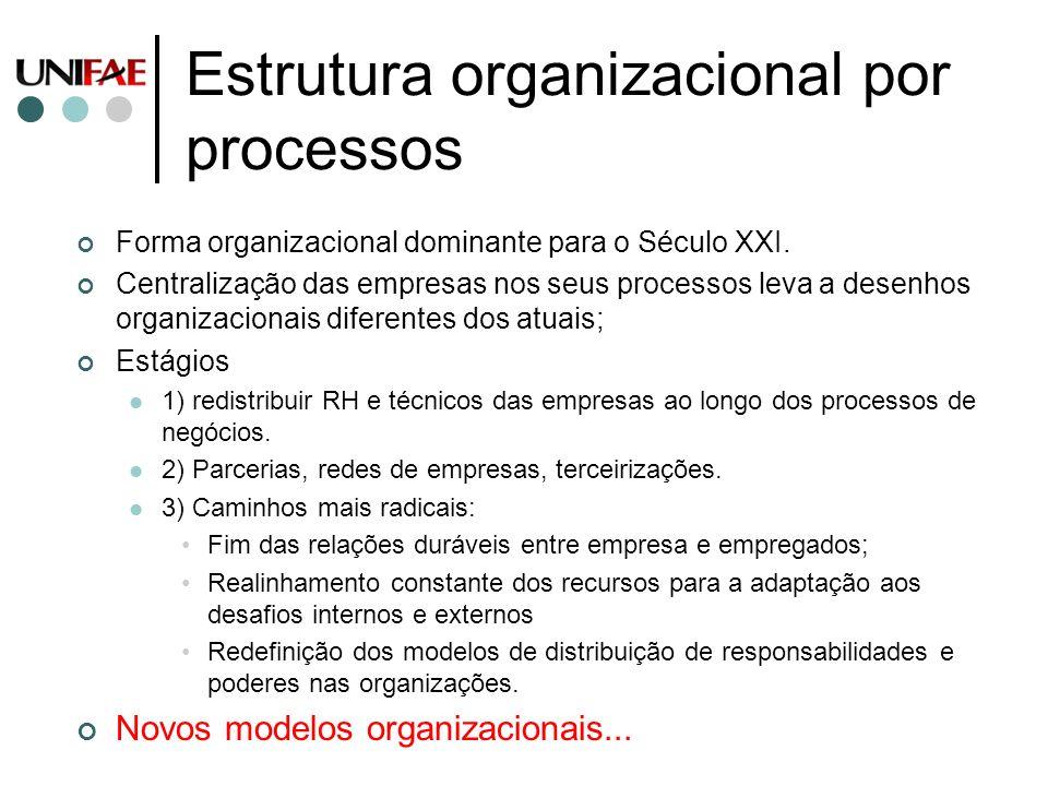 Estrutura organizacional por processos