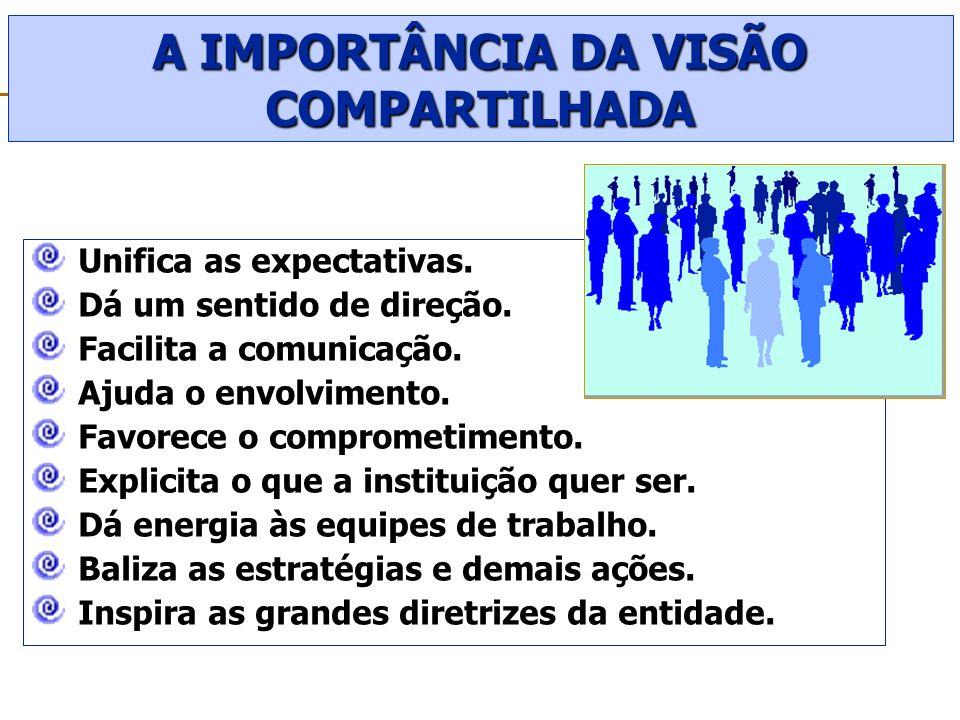 A IMPORTÂNCIA DA VISÃO COMPARTILHADA