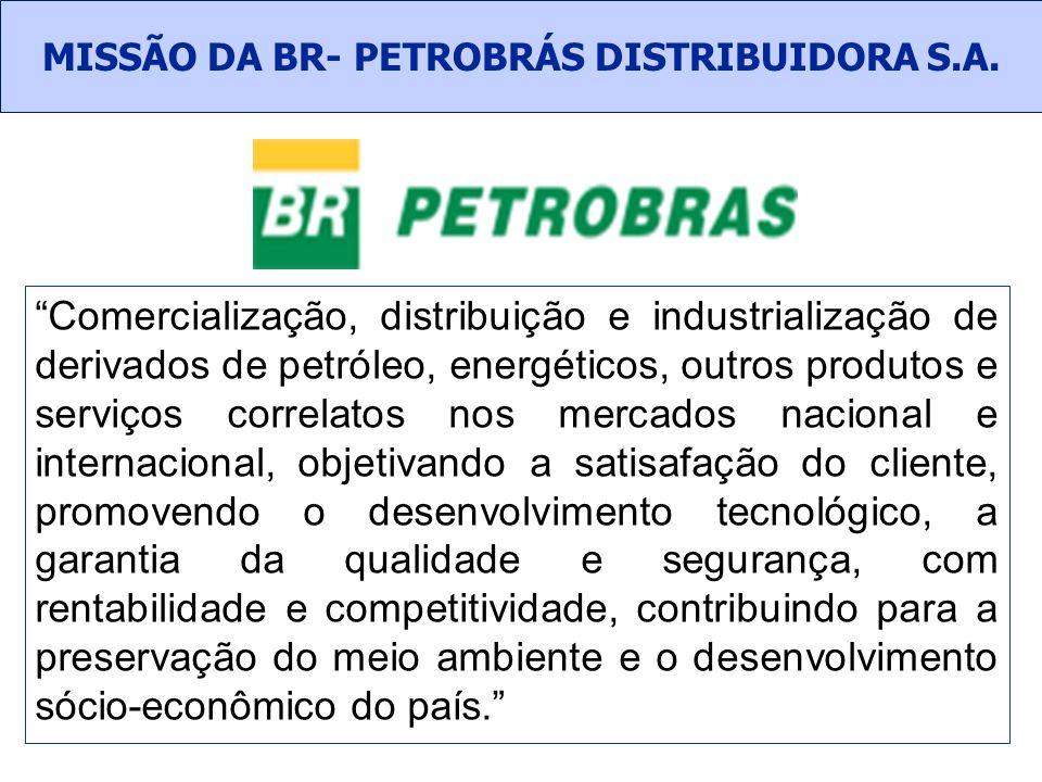 MISSÃO DA BR- PETROBRÁS DISTRIBUIDORA S.A.