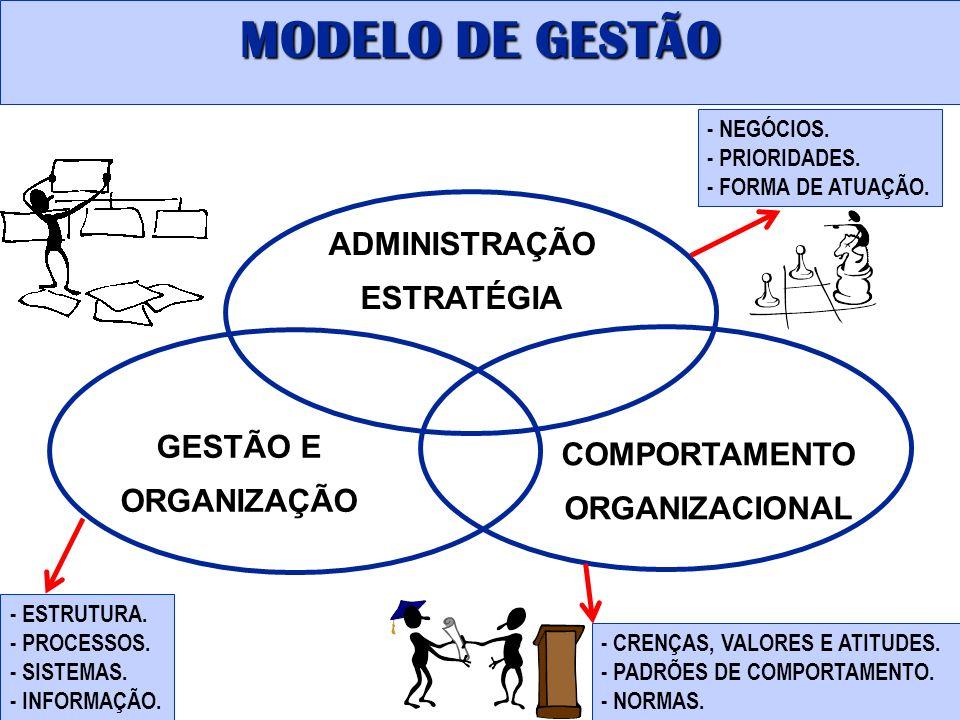ADMINISTRAÇÃO ESTRATÉGIA COMPORTAMENTO ORGANIZACIONAL