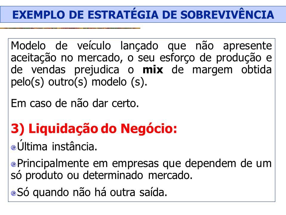 EXEMPLO DE ESTRATÉGIA DE SOBREVIVÊNCIA