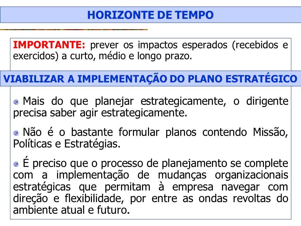 VIABILIZAR A IMPLEMENTAÇÃO DO PLANO ESTRATÉGICO