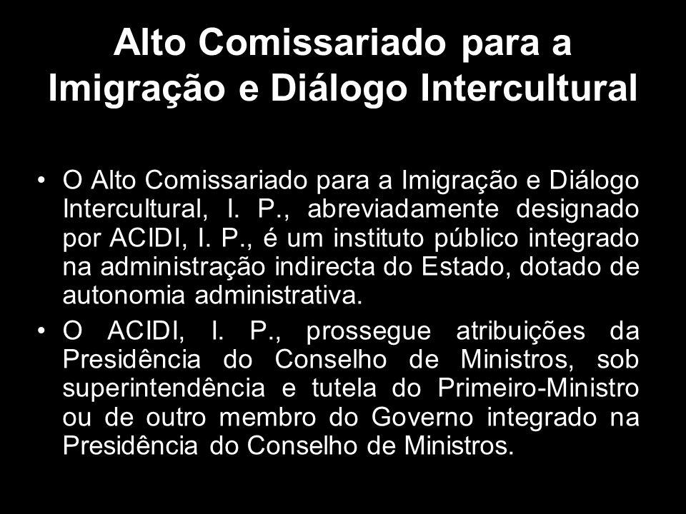 Alto Comissariado para a Imigração e Diálogo Intercultural