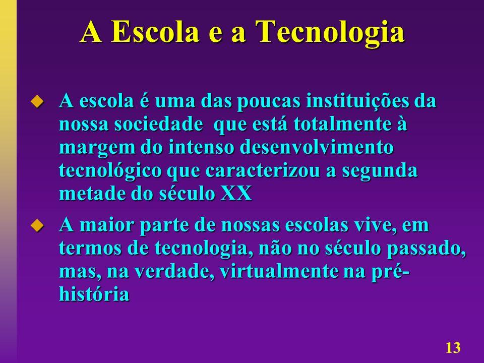 A Escola e a Tecnologia