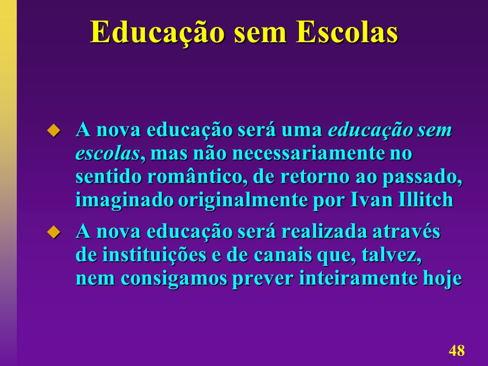 Educação sem Escolas