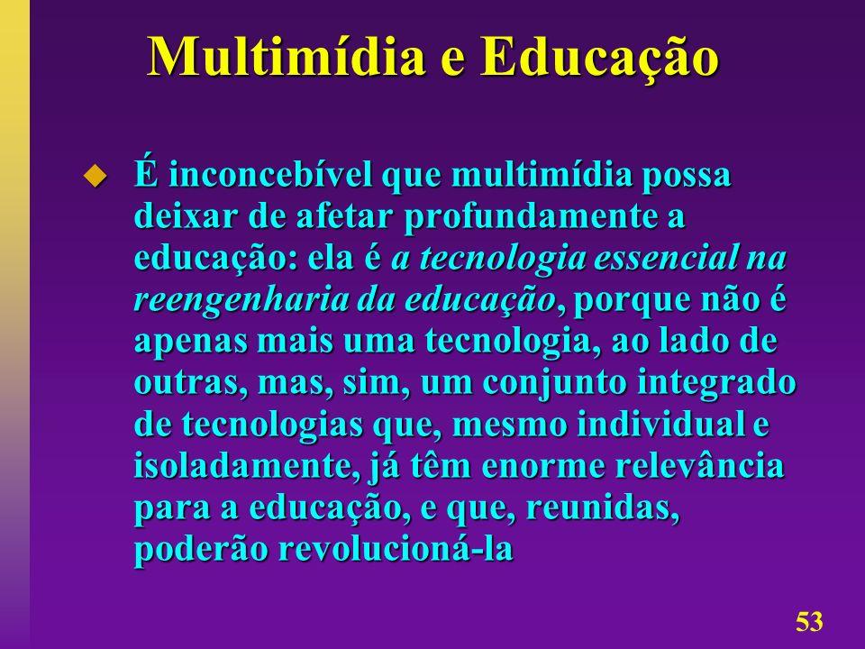 Multimídia e Educação