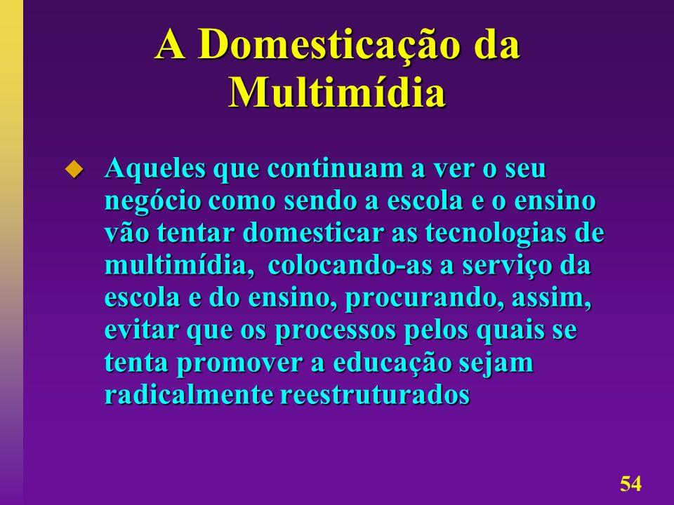 A Domesticação da Multimídia
