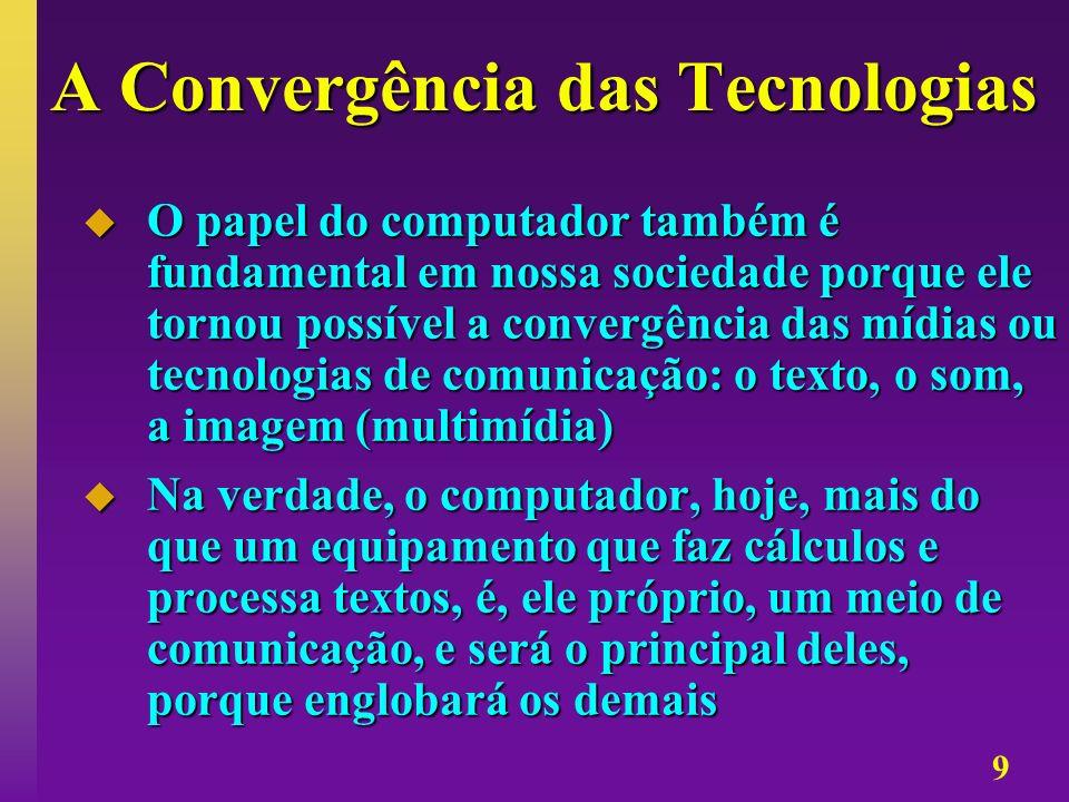 A Convergência das Tecnologias