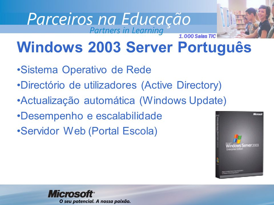Windows 2003 Server Português