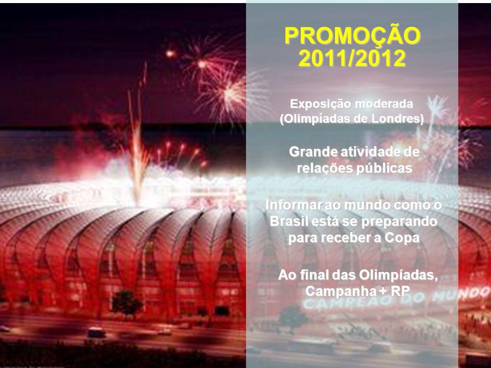 PROMOÇÃO 2011/2012 Grande atividade de relações públicas
