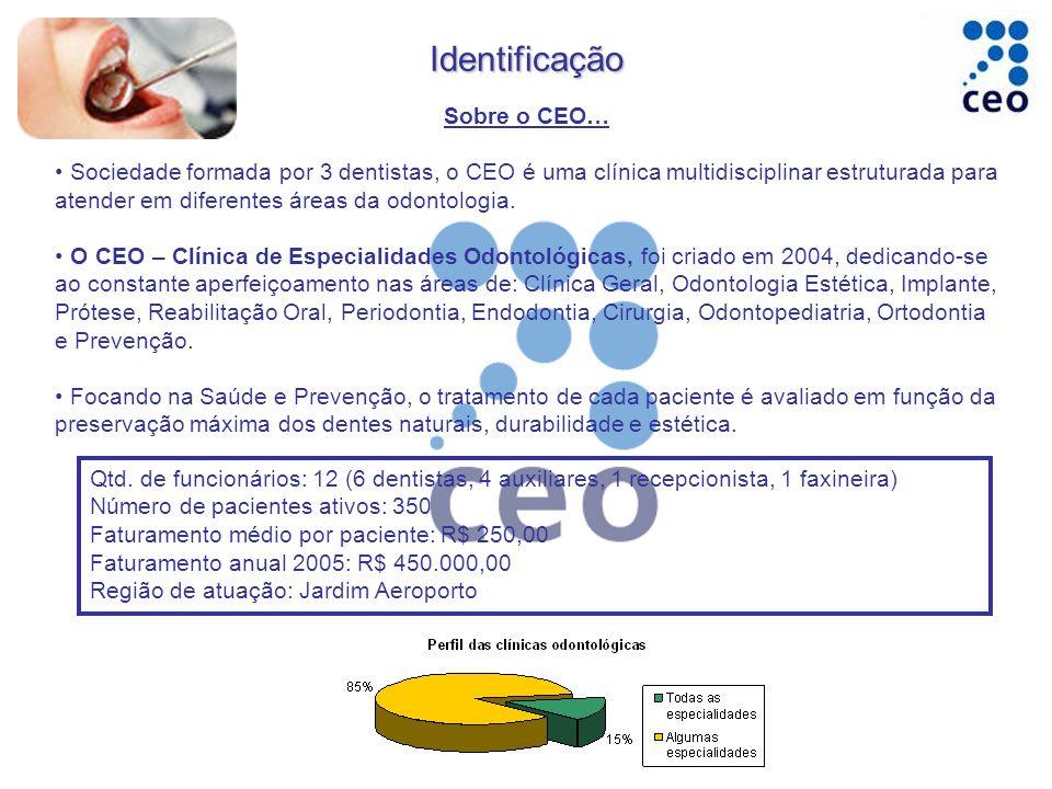 Identificação Sobre o CEO…
