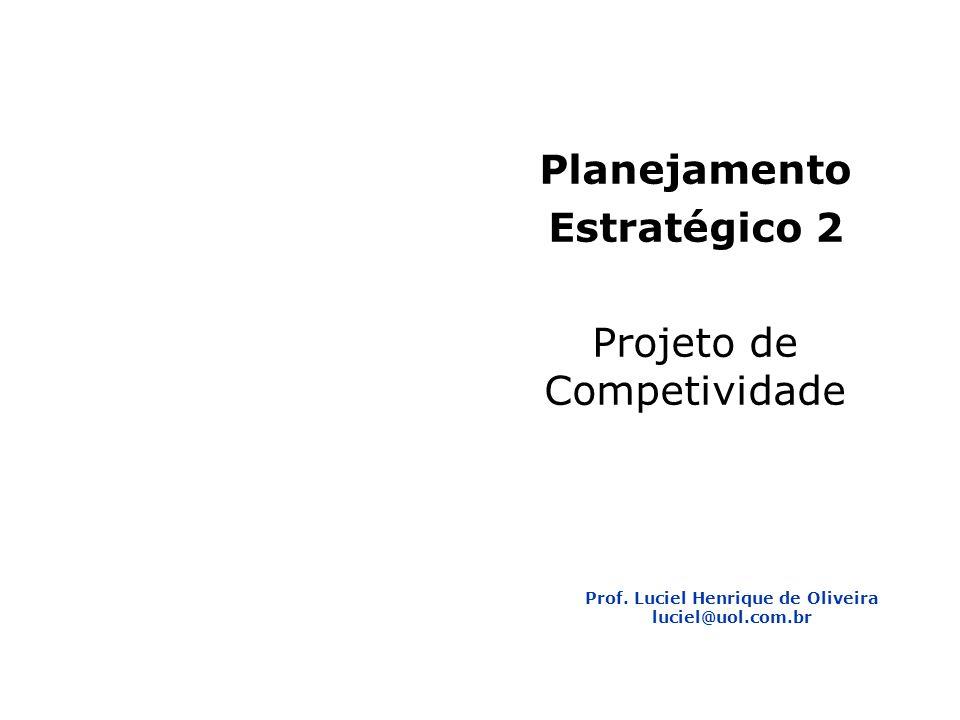 Prof. Luciel Henrique de Oliveira