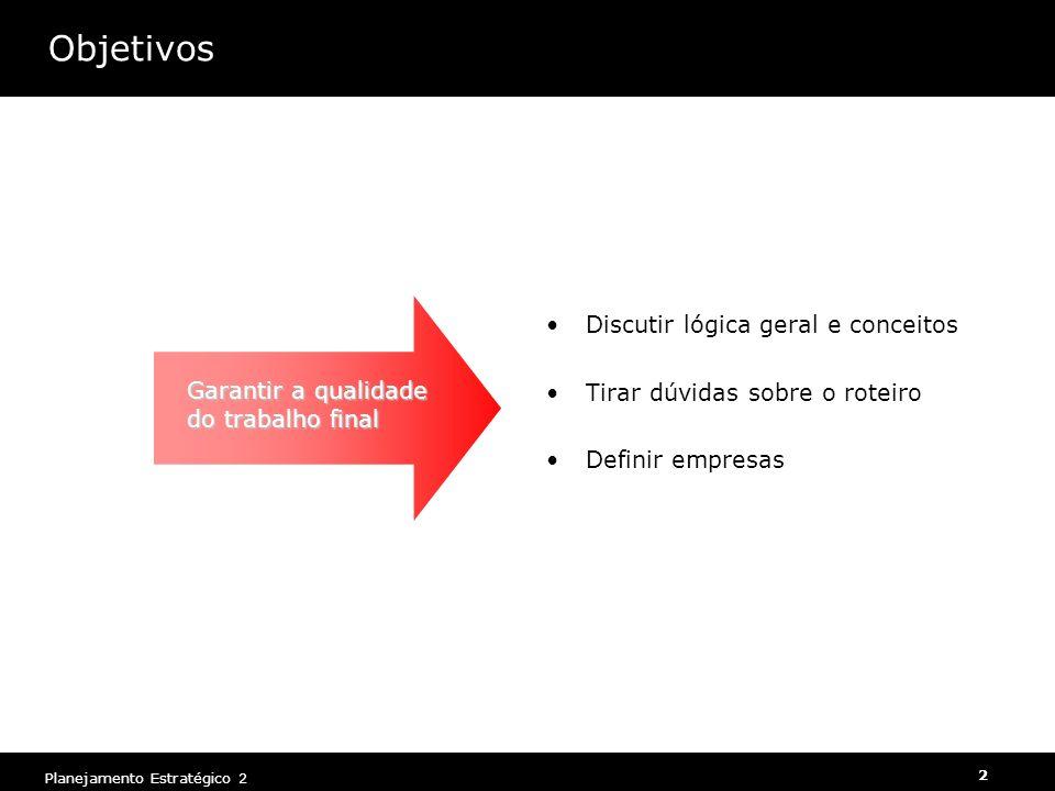 Objetivos Discutir lógica geral e conceitos