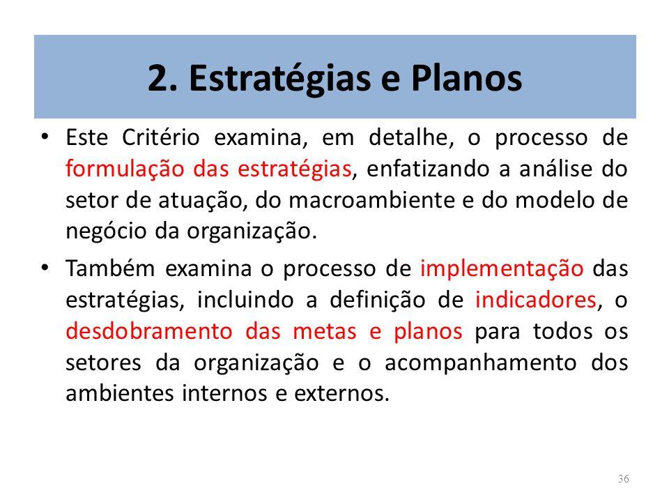 2. Estratégias e Planos