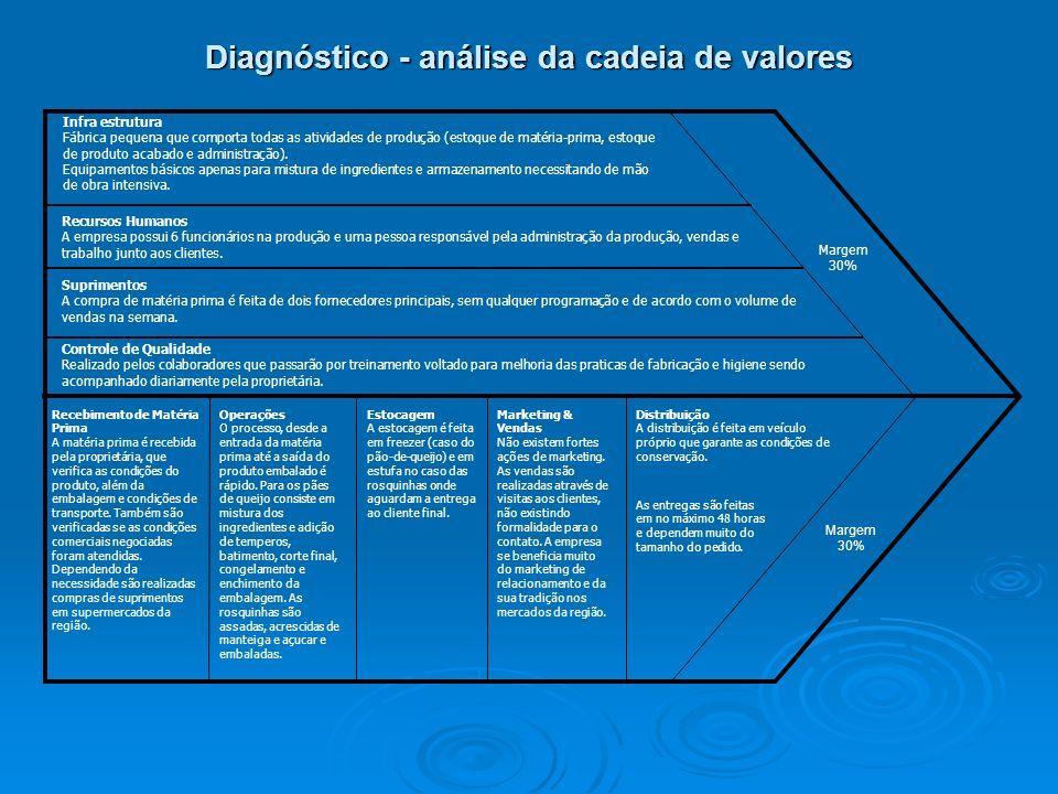 Diagnóstico - análise da cadeia de valores