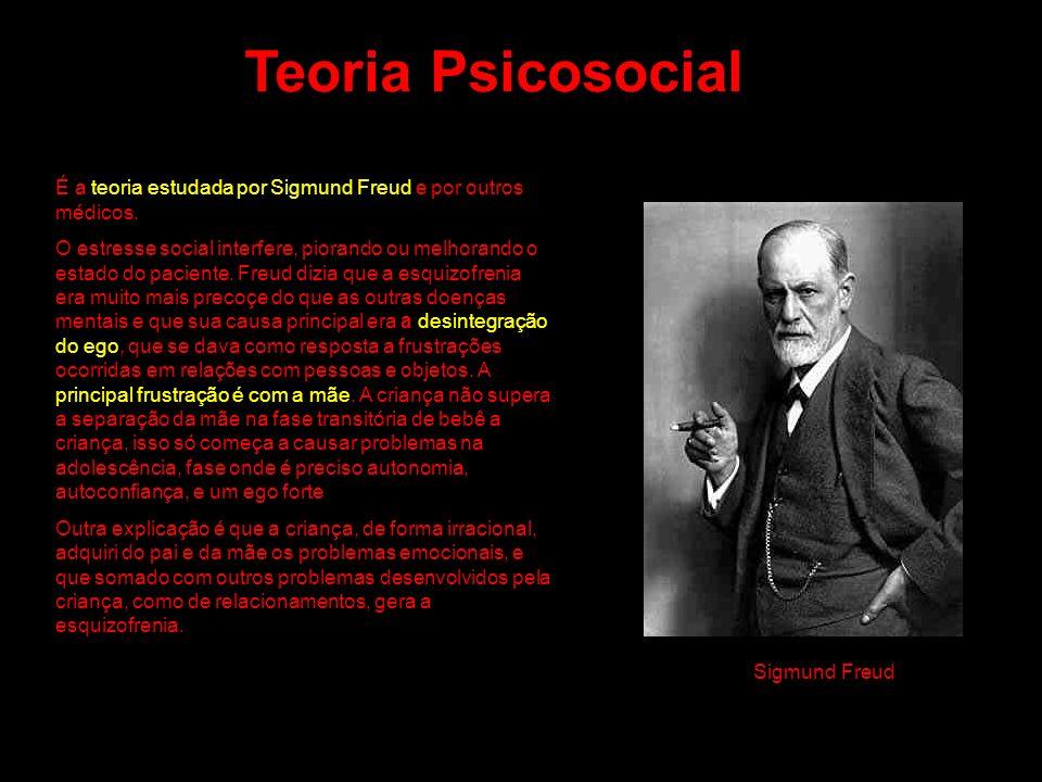 Teoria Psicosocial É a teoria estudada por Sigmund Freud e por outros médicos.