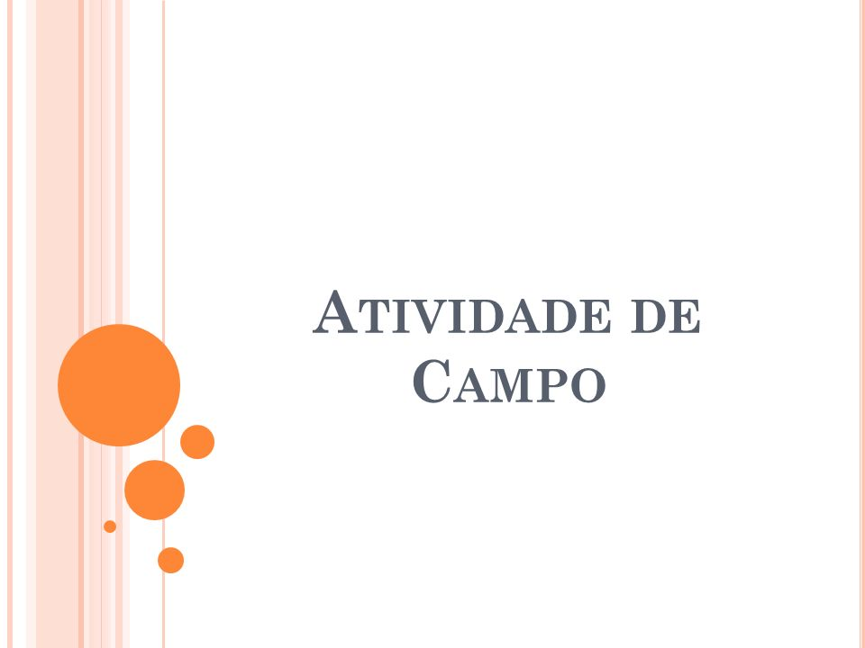 Atividade de Campo