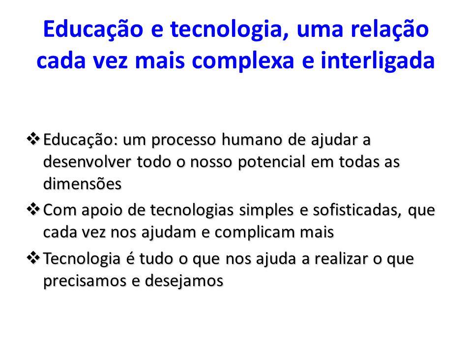 Educação e tecnologia, uma relação cada vez mais complexa e interligada