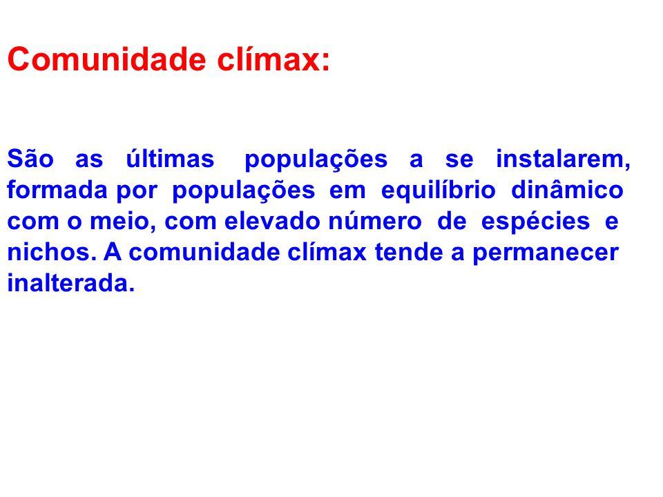Comunidade clímax: