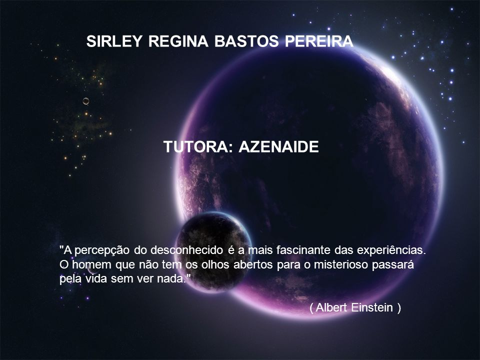 SIRLEY REGINA BASTOS PEREIRA