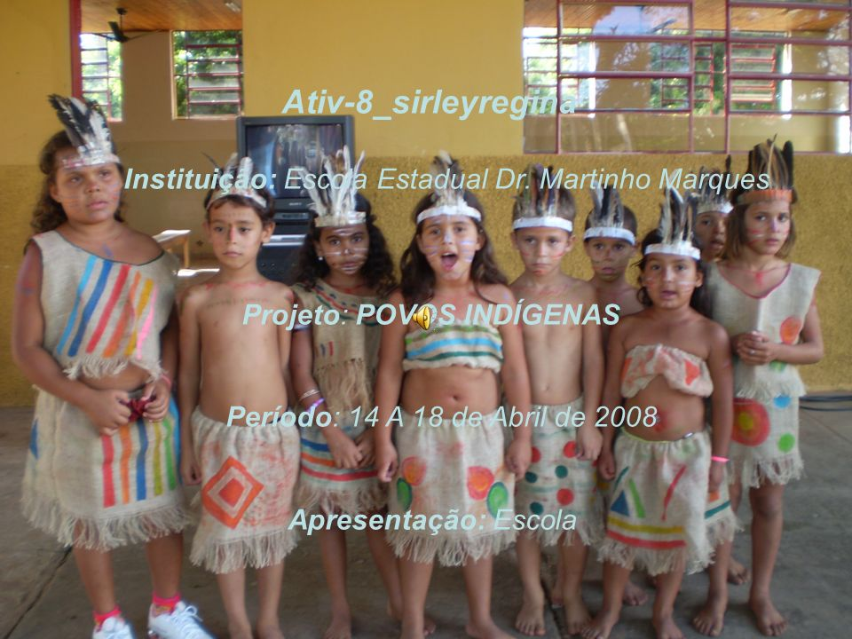 Instituição: Escola Estadual Dr. Martinho Marques
