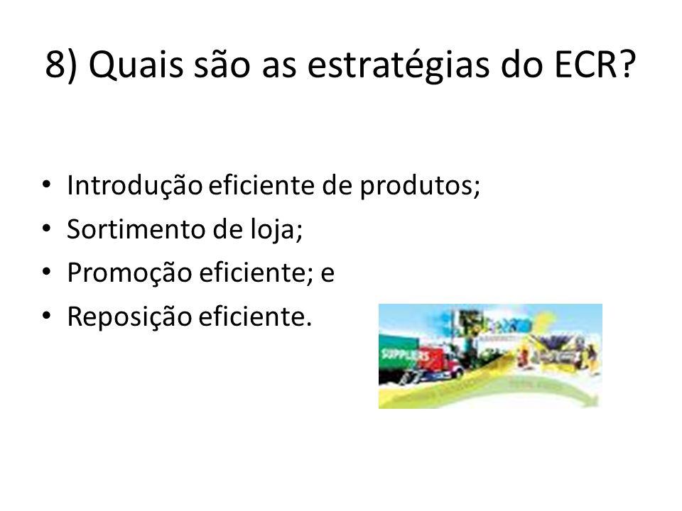 8) Quais são as estratégias do ECR