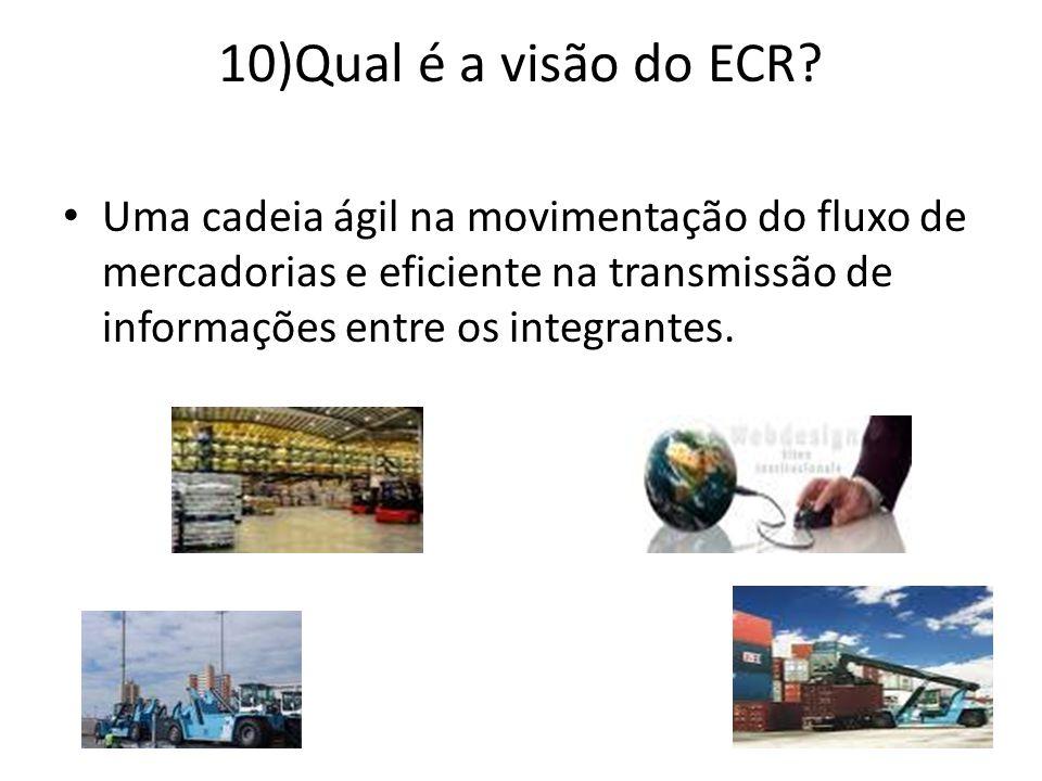 10)Qual é a visão do ECR.