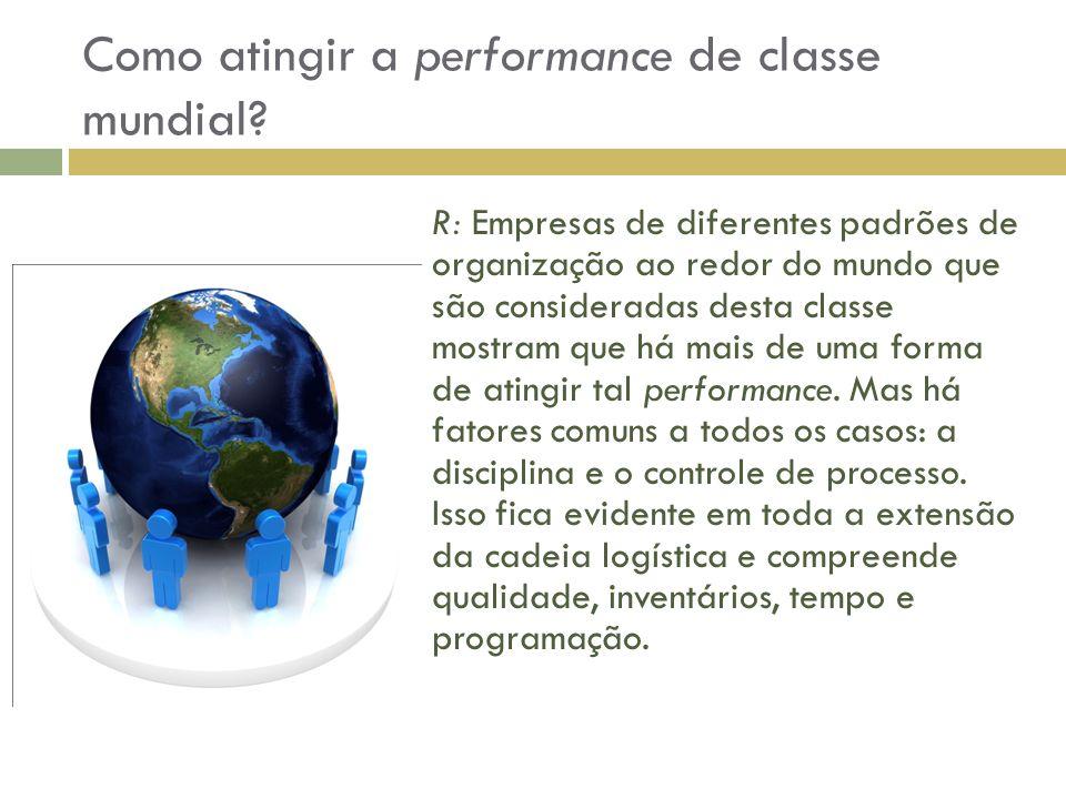 Como atingir a performance de classe mundial