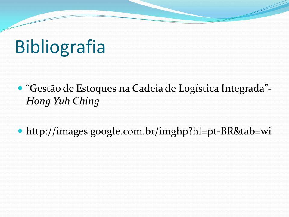 Bibliografia Gestão de Estoques na Cadeia de Logística Integrada - Hong Yuh Ching.