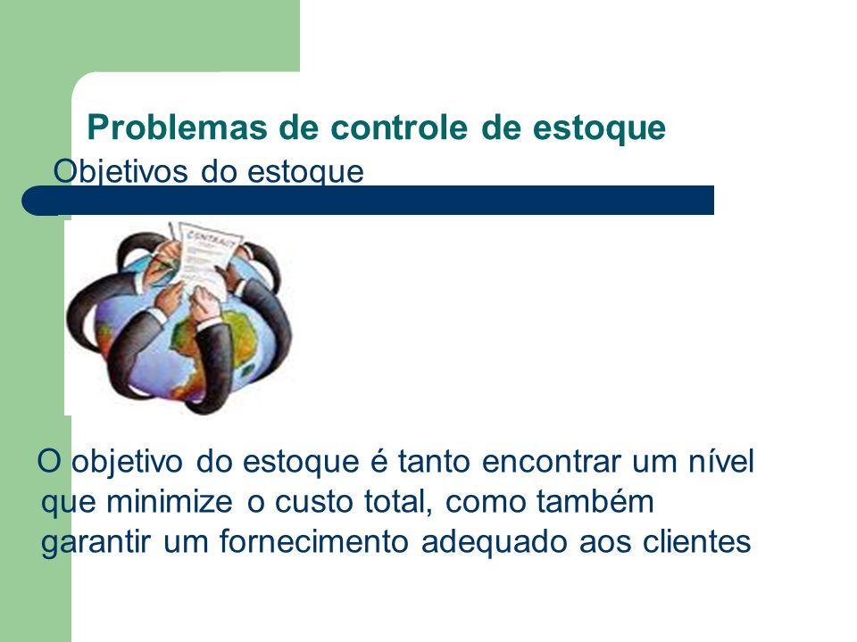 Problemas de controle de estoque